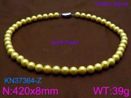 Shell Pearl Necklaces