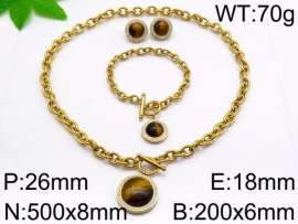 SS Jewelry Set(Most Women)