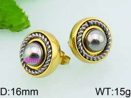 SS Gold-Plating Earring