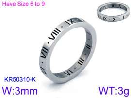 Stainless Steel Special Ring