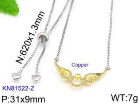 Stainless Steel Stone Necklace