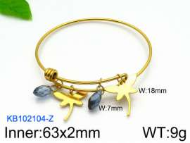 Stainless Steel Gold-plating Bangle