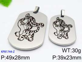 Stainless Steel Lover Pendant