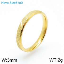 Stainless Steel Gold-plating Ring